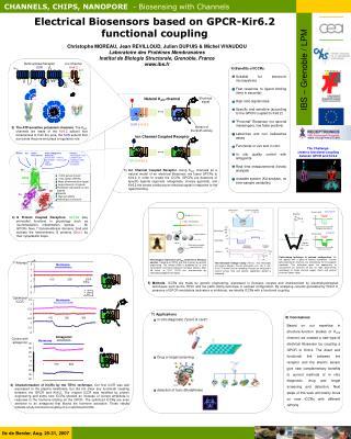 Electrical Biosensors based on GPCR-Kir6.2 functional coupling