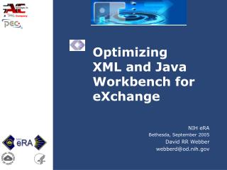 Optimizing  XML and Java Workbench for eXchange