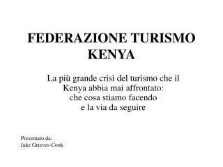 FEDERAZIONE TURISMO KENYA