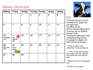Stjärnan / Februari 2012