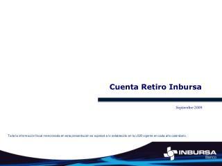 Cuenta Retiro Inbursa