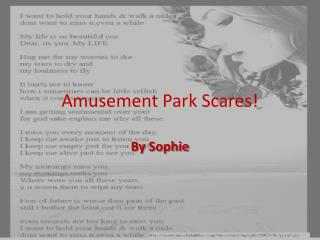 Amusement Park Scares!