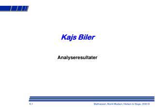 Kajs Biler
