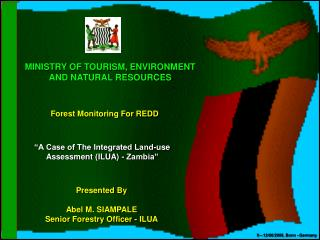 MINISTRY OF TOURISM, ENVIRONMENT  AND NATURAL RESOURCES