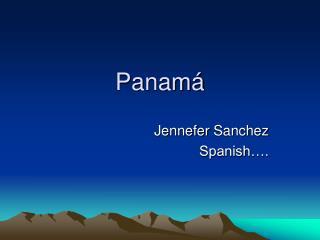 Panam �