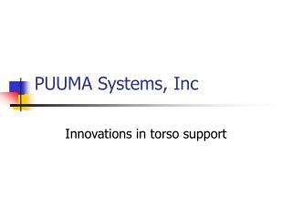 PUUMA Systems, Inc