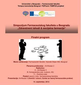 Univerzitet u Beogradu – Farmaceutski fakultet,