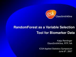 RandomForest as a Variable Selection Tool for Biomarker Data