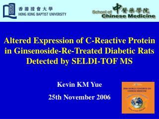 Kevin KM Yue 25th November 2006
