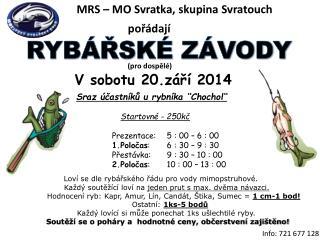 MRS – MO Svratka, skupina  Svratouch