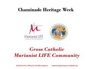 Chaminade Heritage Week