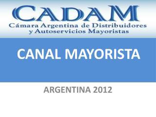 ARGENTINA 2012