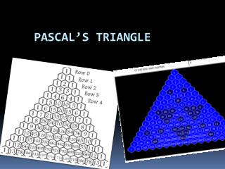 Pascal�s Triangle