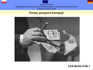 Formy przejawu korupcji