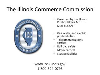The Illinois Commerce Commission