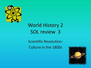 World History 2  SOL review3