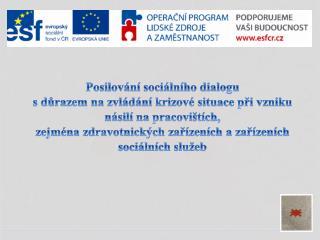 Posilování sociálního dialogu