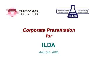 Corporate Presentation for