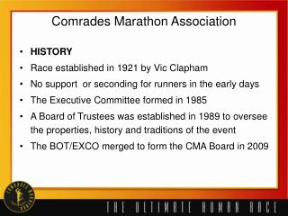 Comrades Marathon Association