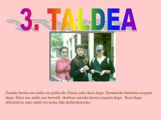 3. TALDEA