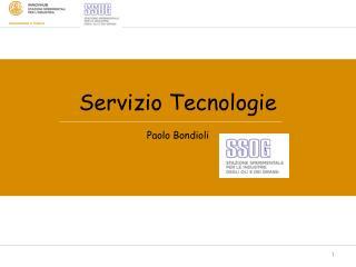 Servizio Tecnologie