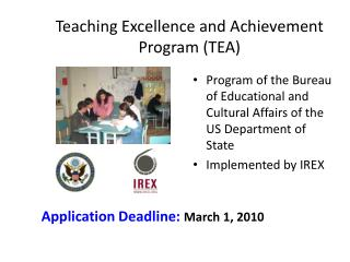 Teaching Excellence and Achievement Program (TEA)