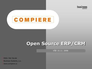Open Source ERP / CRM