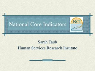 National Core Indicators