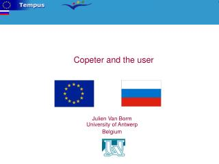 Copeter and the user