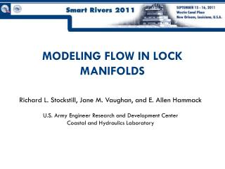 MODELING FLOW IN LOCK MANIFOLDS