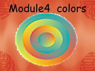 Module4  colors
