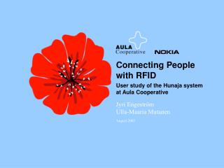 Connecting People with RFID