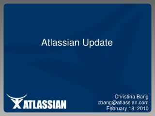 Atlassian Update