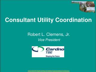 Consultant Utility Coordination