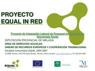 PROYECTO EQUAL IN RED