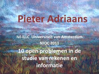 Pieter Adriaans