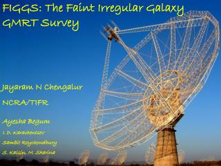FIGGS: The Faint Irregular Galaxy GMRT Survey