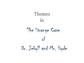 Themes in