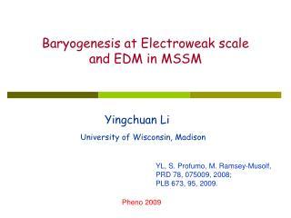 Yingchuan Li