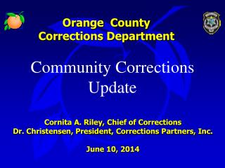 Orange  County Corrections Department
