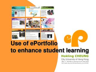 Use of ePortfolio  to enhance student learning