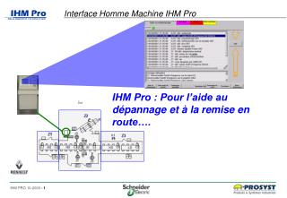 Interface Homme Machine IHM Pro