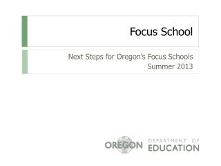 Focus School