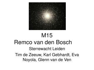 M15 Remco van den Bosch