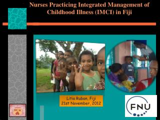 Nurses Practicing Integrated Management of Childhood Illness (IMCI) in Fiji