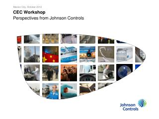 CEC Workshop  Perspectives from Johnson Controls