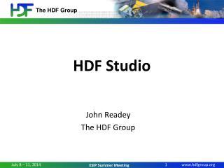 HDF Studio