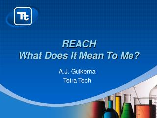 REACH What Does It Mean To Me?