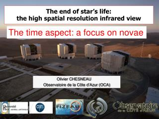 The end of star's life: the high spatial resolution infrared view
