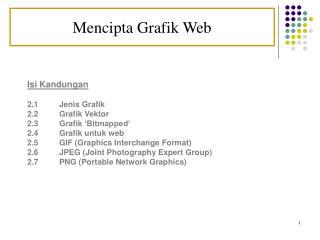 Mencipta Grafik Web